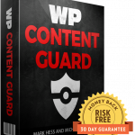 "[DON'T WAIT!] WP Content Guard By Mark Hess and Michael Thomas Review : WARNING! ""Internet Thieves"" Are Destroying Your Business + How To Stop Them With Just 1-Click"